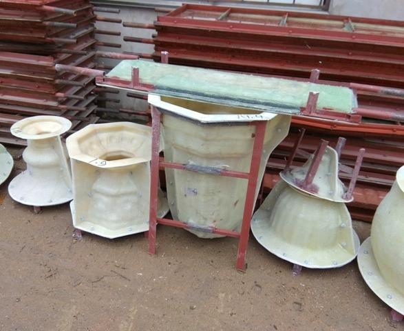 Формы для бетона стеклопластик - molds for concrete products to order