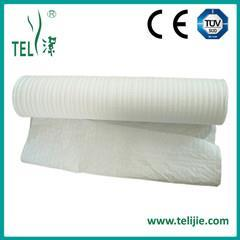 Raw Material 4 ply tissue reinforced with a poly scrim