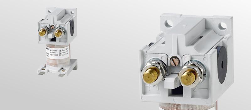 Batterieschütze C137-C165 - DC-Schütze von 40 bis 220 A  und Batteriespannungen bis 120 V