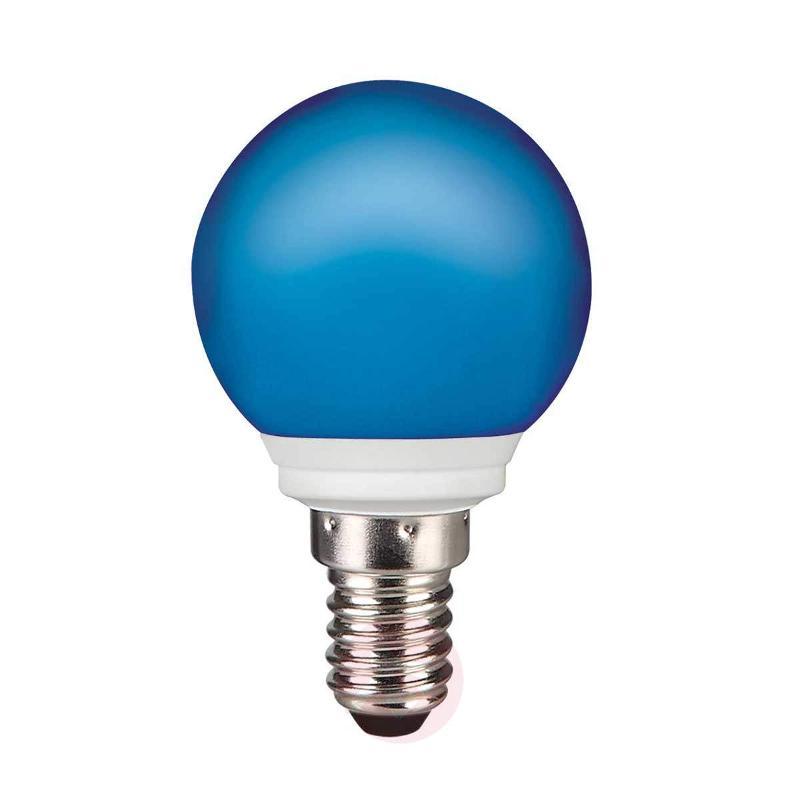 E14 0.5 W LED golf ball bulb, fairy lights, IP44 - LED Bulbs