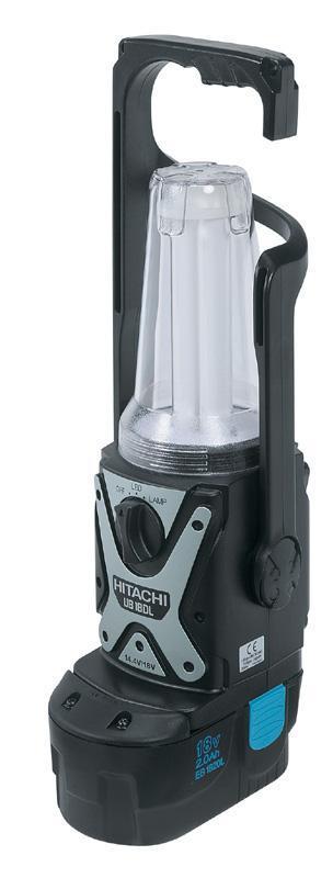 Baladeuse sur accu - 14,4 V - 18 V hitachi - null