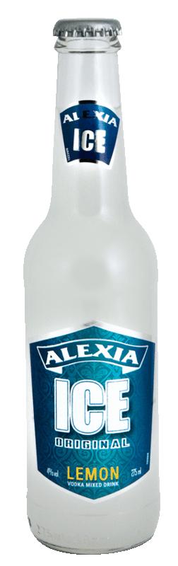 Vodka Alexia Ice Citron - Vodka prête à boire