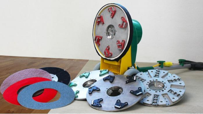 SINGLE - Однодисковая шлифовальная машина для шлифования, полировки, чистки, фрезерования