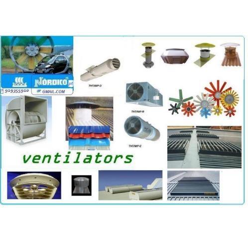 ventilators  /ventiladores (industrial - axiais ,centrifºs , eolicos e estaticos