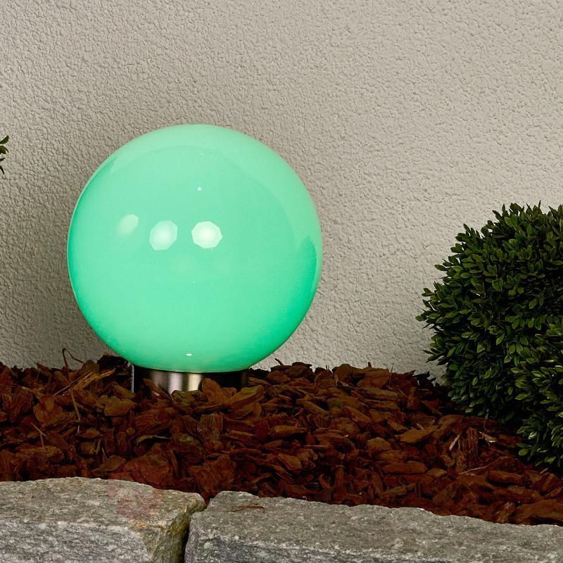 Boule solaire LED RVB multicolore Friederika - Lampes solaires décoratives