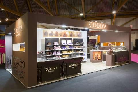 Godiva - Project - Salon : Salon du chocolat