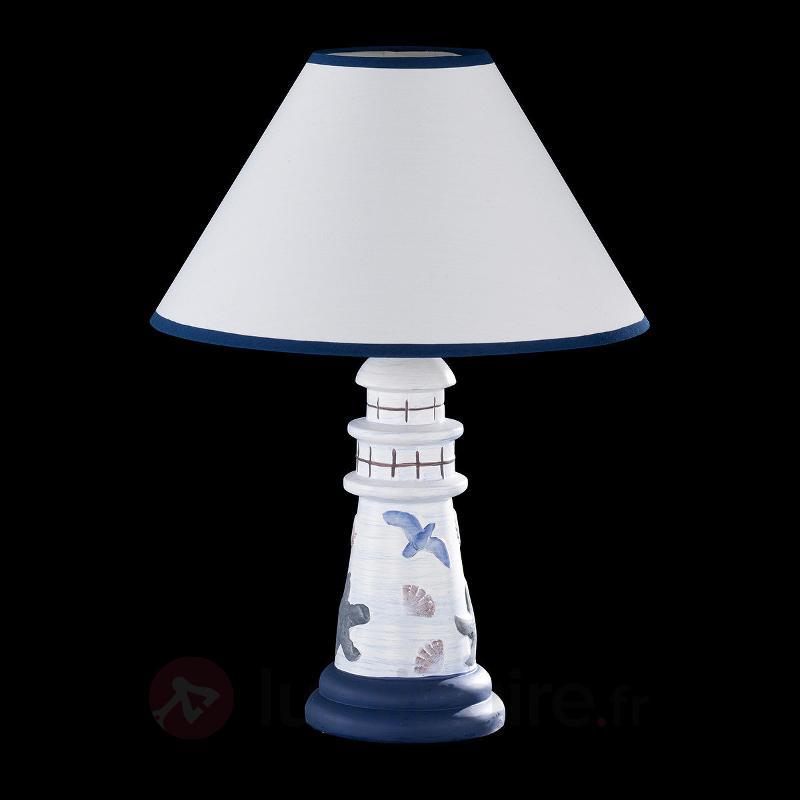Lampe à poser maritime Baltic I - Lampes à poser en tissu