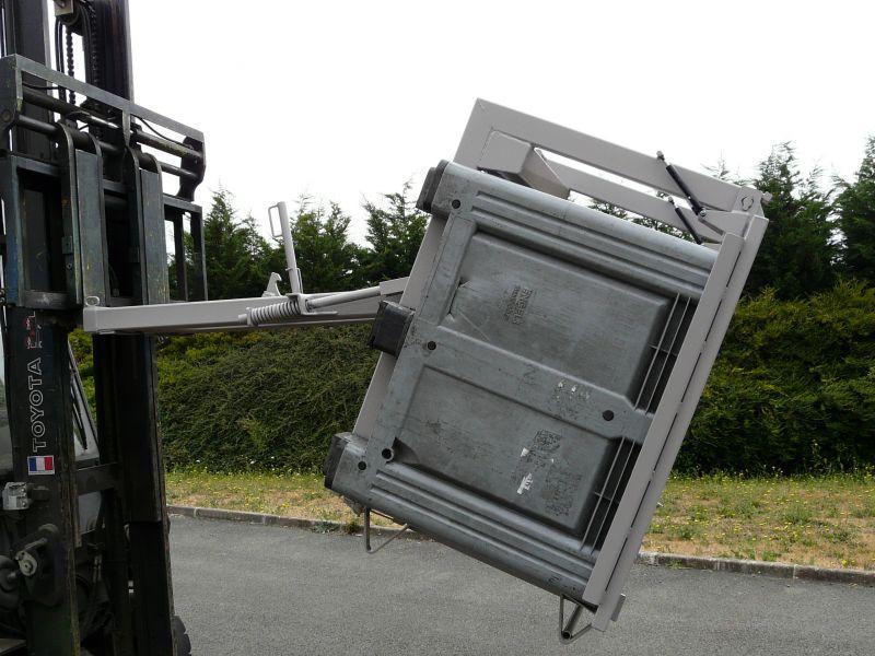 Retourneur de caisses prise inférieure - Accessoires