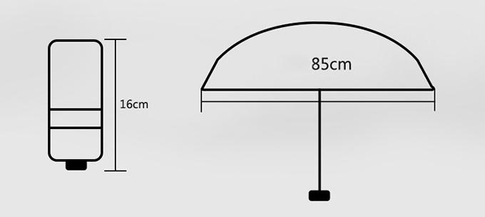 Umbrella - Mini Promotional Folding Umbrella