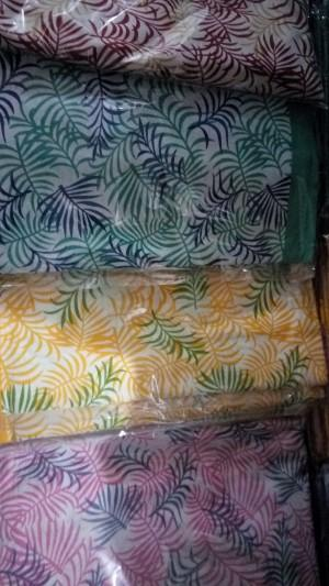 Screen printed cotton bedsheets - screen printed
