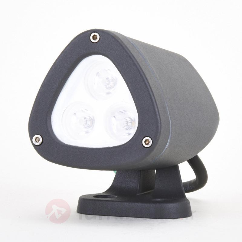 Spot d'extérieur LED Esma 2700 K inclinable - Projecteurs d'extérieur LED