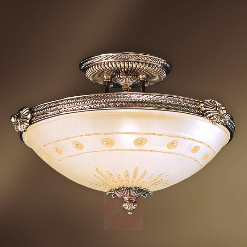 Ceiling light Estrella with pretty decorated edge - indoor-lighting