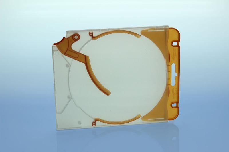 Abheftclip für CD Ejector Case - orange - Ejector/Variopack