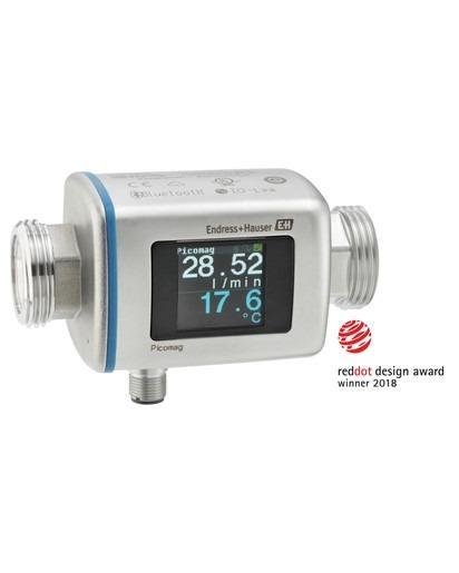 Picomag Electromagnetic flowmeter - Smart magmeter for utilities – intuitive · convenient · multivariable