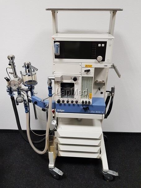 Narkosegerät Dräger Sulla 808V - OP-Ausstattung gebraucht bestellen