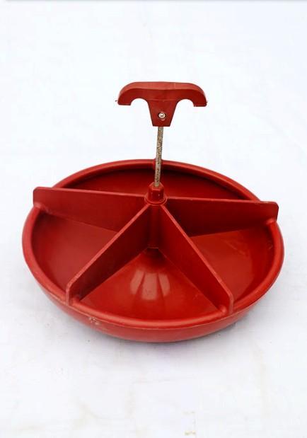 Swine plastic feeding trough-Diameter:28cm * Pan depth:6.5cm - Swine plastic feeding trough(Diameter:28cm * Pan depth:6.5cm*Thicknes:0.8mm)