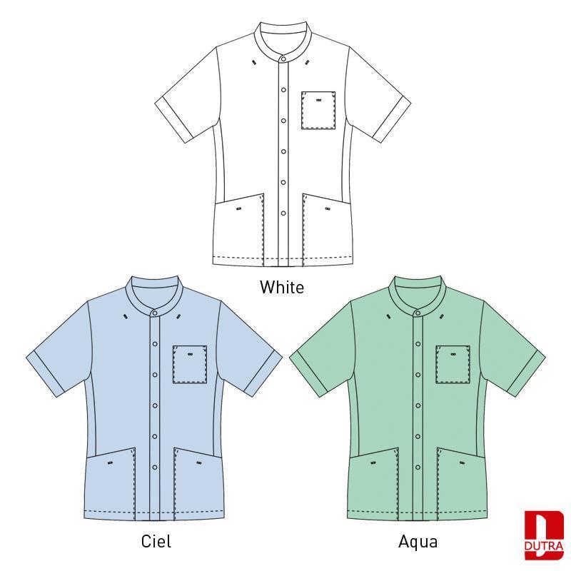 Veste Personnel soignant  - Veste de soins uni col officier - ASTRUNI