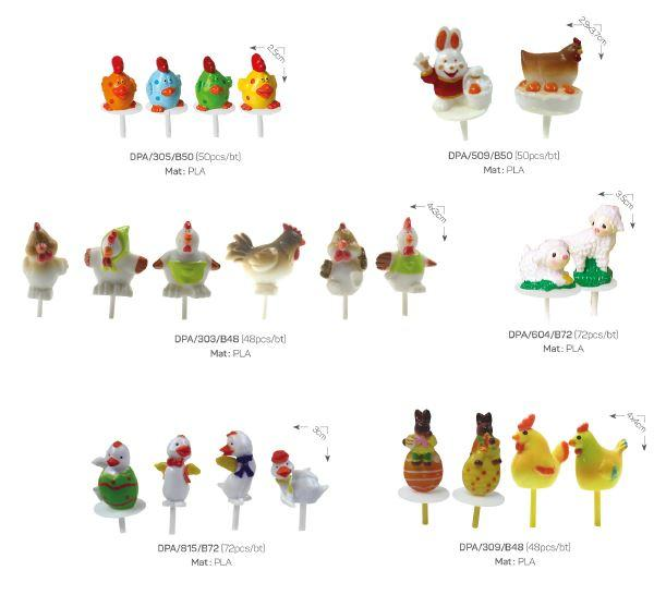 Plastic and Polyresin - Decoration items