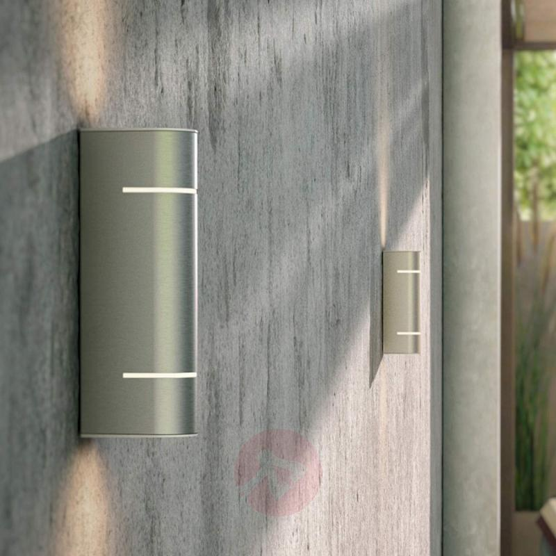 Sunset LED outdoor wall light from stainless steel - stainless-steel-outdoor-wall-lights
