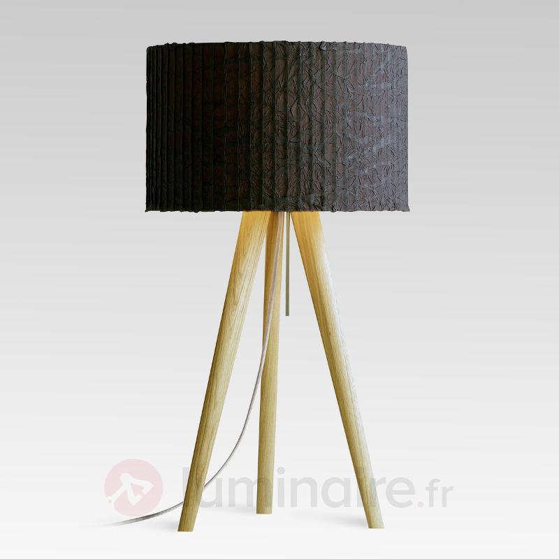 Lampe à poser Sten Cloud chêne blanc graphite - Toutes les lampes à poser
