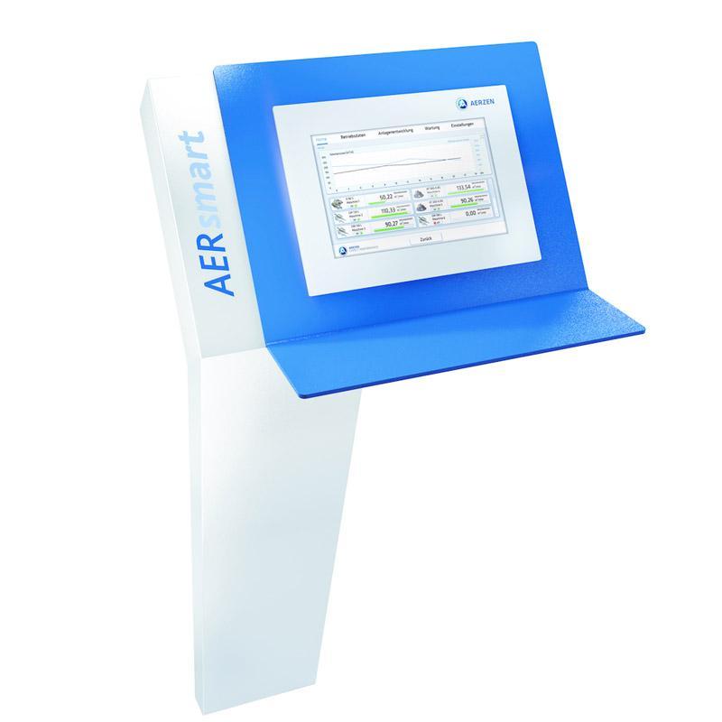 AERZEN Verbundsteuerung AERsmart  - Maschinensteuerung für bis zu 12 Aggregate