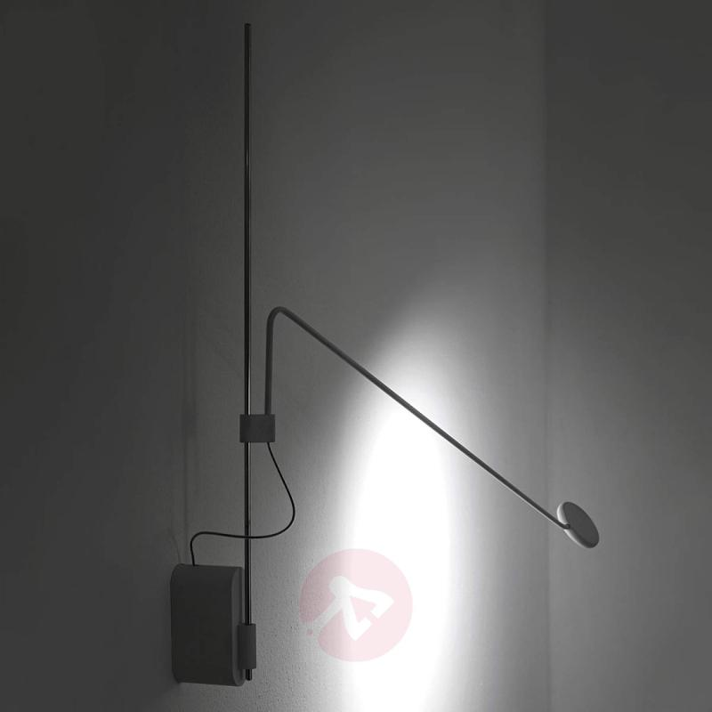 Tecla height-adjustable LED wall light - indoor-lighting