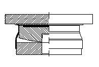 Structural bearings - Cylindrical hinge bearings