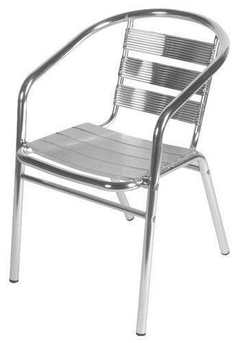 Chaise De Terrasse Alu Kanzas - Mobilier De Terrasse