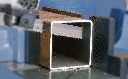 Sägeband für leicht zerspanbare kleineoder dünnwandige
