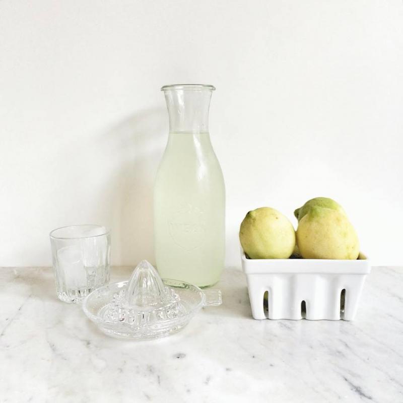 6 bottiglie WECK Flacon® 1062 ml  - con coperchi in vetro e Guarnizioni (graffe non incluse)