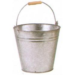 Seau zinc lourd 8 L 10 L 15 L - Extérieur