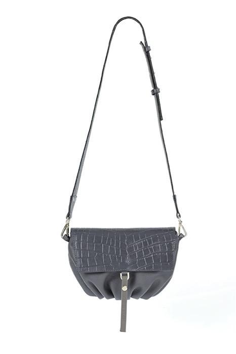 Soft Bag S Graphite - Torba skórzana