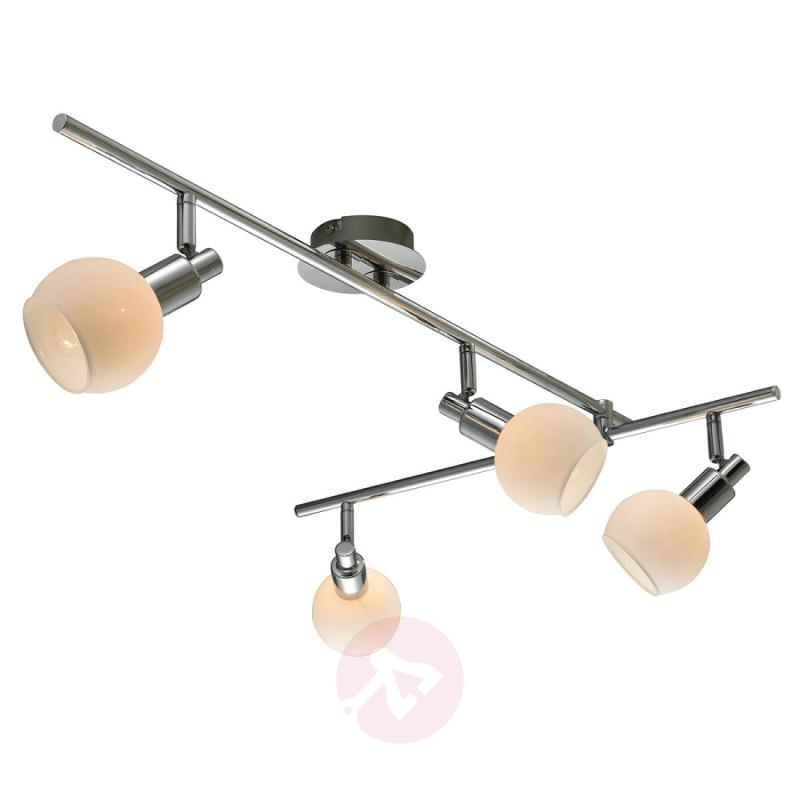 Chrome-plated ceiling lamp Verena - 4-bulb - indoor-lighting