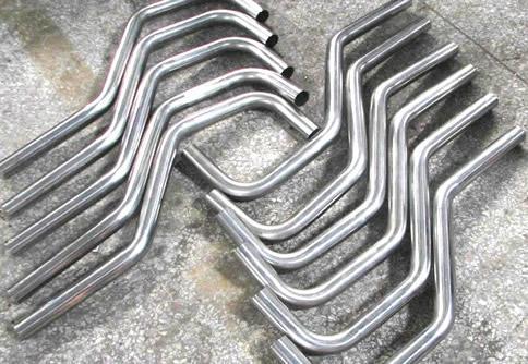 Aluminum elbowed pipe  - custom aluminum tube or pipe elbowed