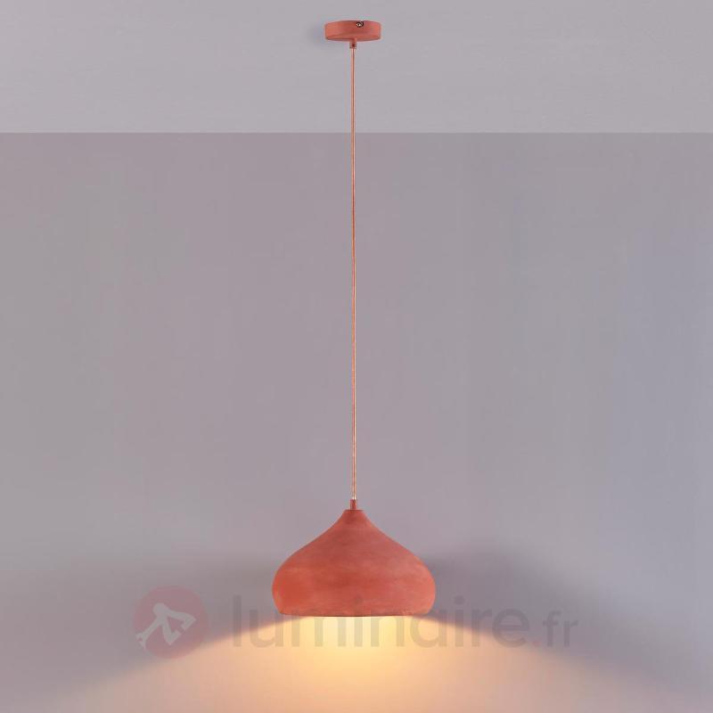 Suspension terracotta Fiona de forme esthétique - Cuisine et salle à manger