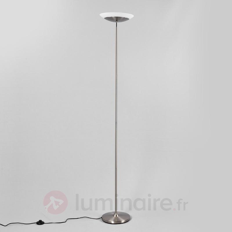 Lampadaire LED discret avec interrupteur à pédale - Lampadaires à éclairage indirect