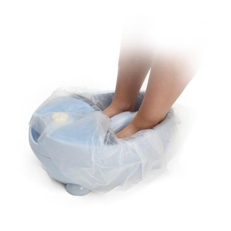 Sacchetto polietilene alta densità per protezione vaschetta podologica