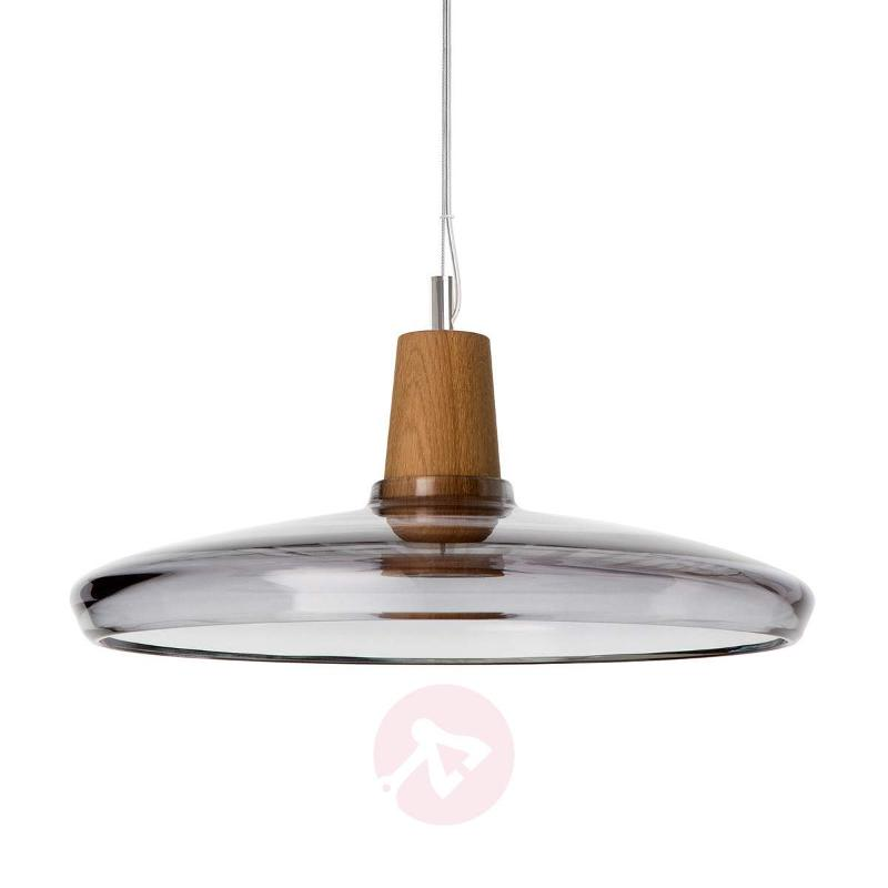 Flat designer pendant light Industrial, 36 cm