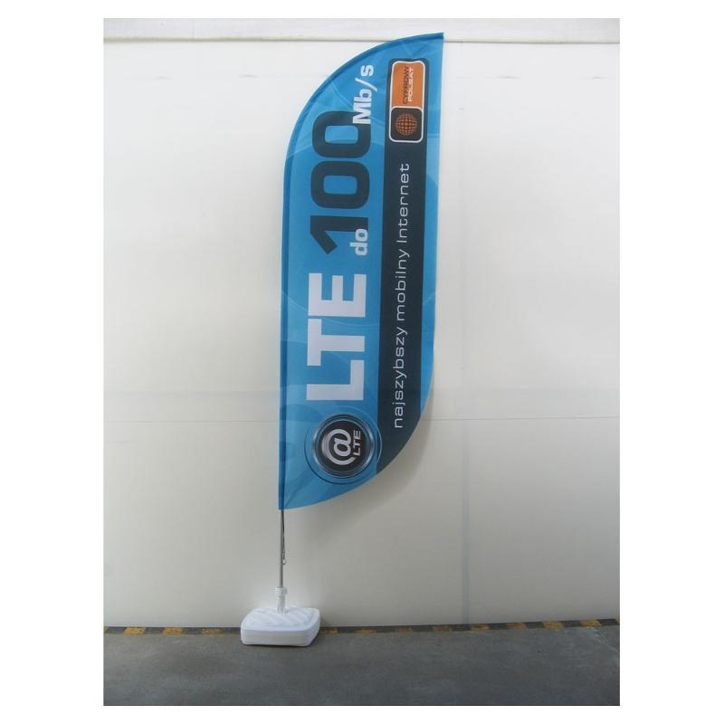 Wind flag classique ou Oriflamme publicitaire - Drapeaux publicitaires et oriflamme