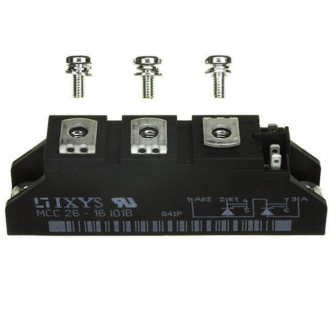 THYRISTOR MODULE 1600V 2X32A - IXYS MCC26-16IO1B
