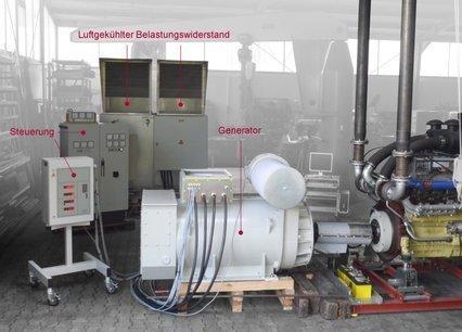 Bremsdynamometer EV -