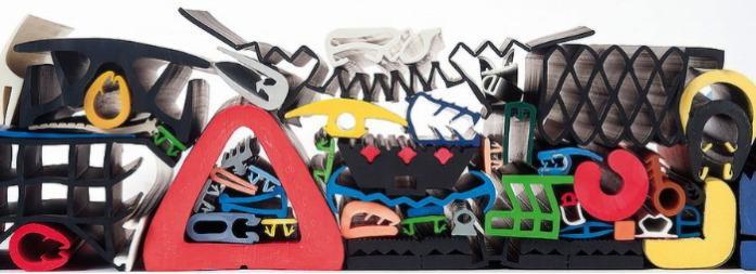 rubber profiles - rubber profile in different colours
