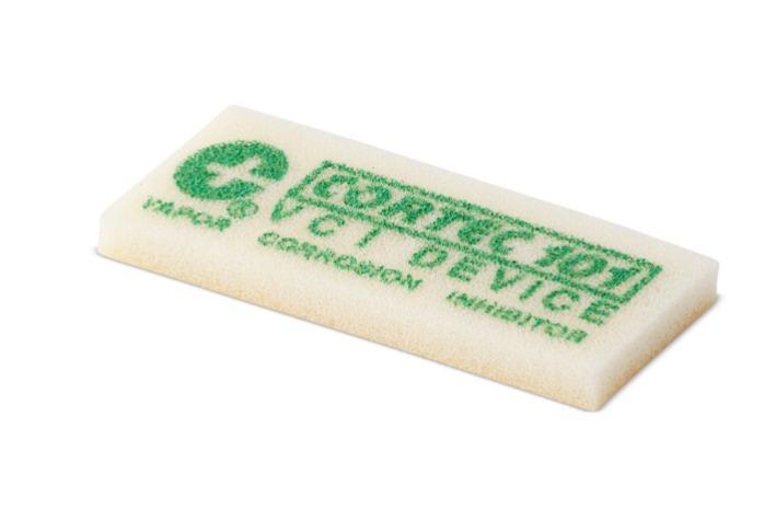 Cortec VPCI 101 - Almohadillas emisoras para protección contra el óxido | Inhibidor de corrosión