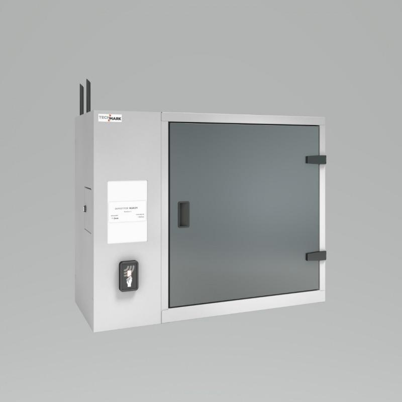 TECHCODE RFID DEPOSIT CABINETS - RFID cabinets with registration of resources