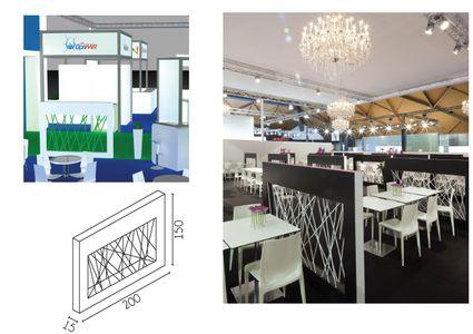 Barrier - For stands or showrooms