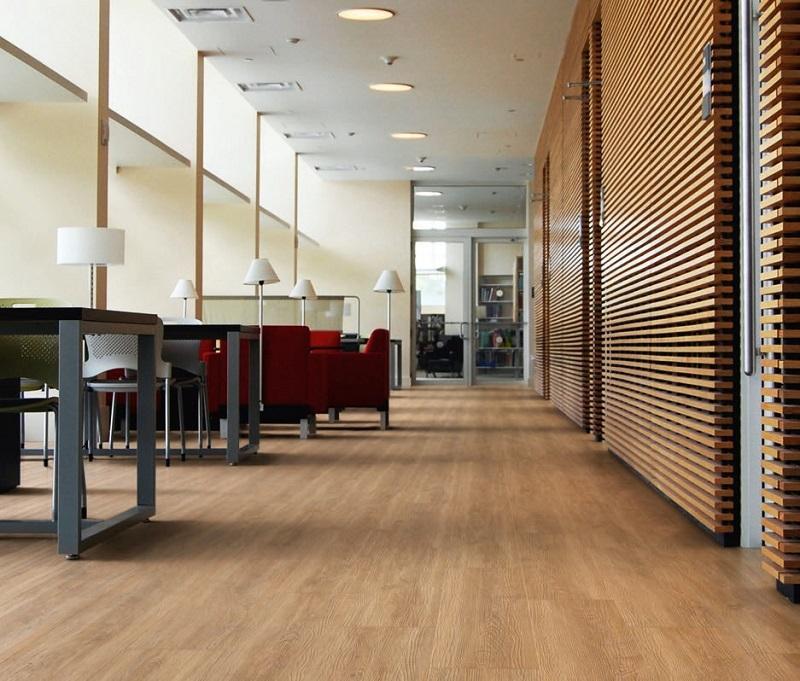 Wood & Concrete  - Luxury Vinyl Flooring