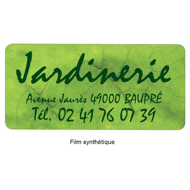 Étiquettes adresse - Etiquette autocollante pour boutique