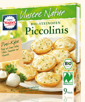 9 piccolinis trois fromages