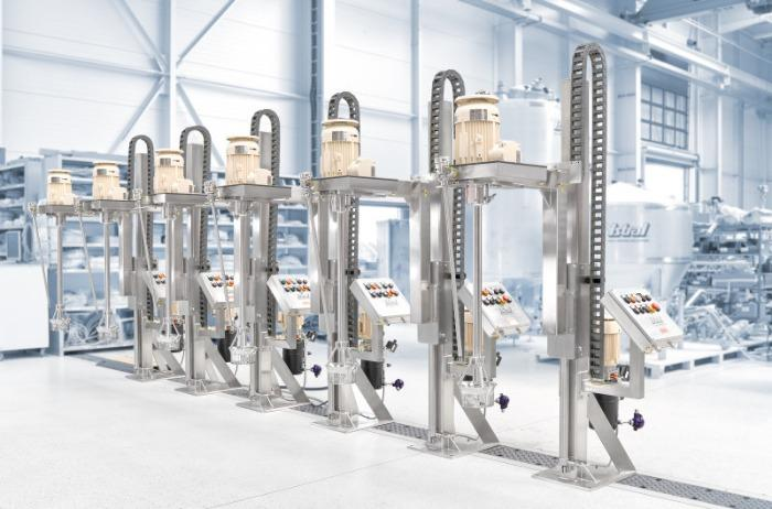 YSTRAL Multipurpose skaft-skiftesystem - Høj skæregradient med rotor-stator-princippet