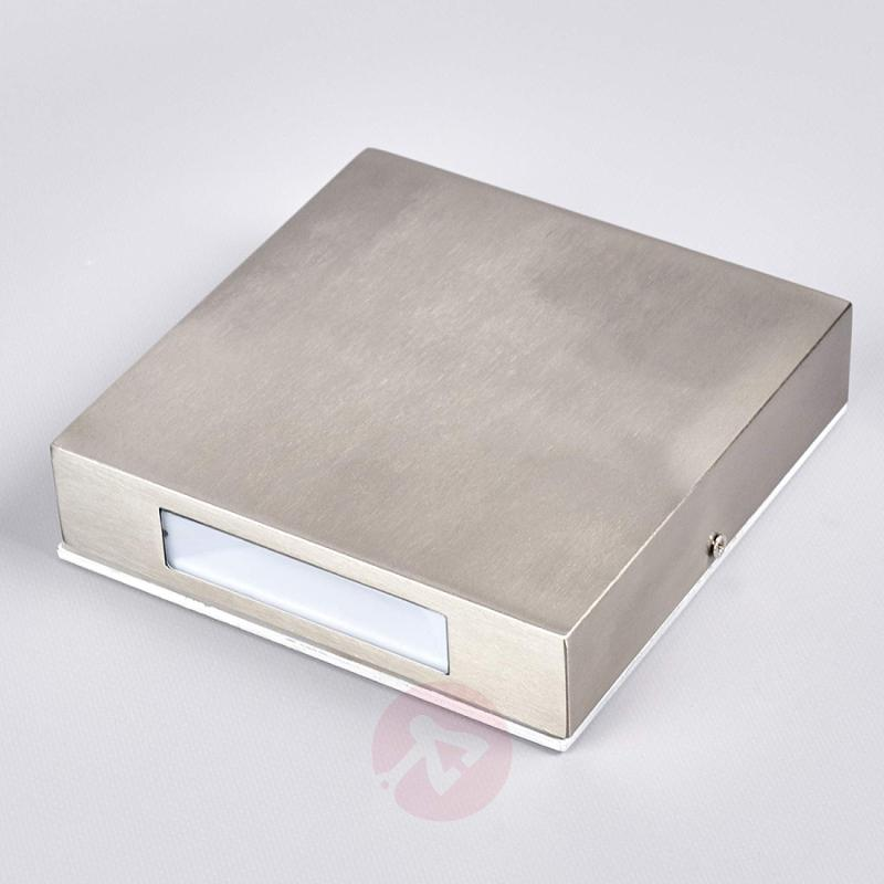 Stainless steel LED outdoor wall lamp Simona - stainless-steel-outdoor-wall-lights